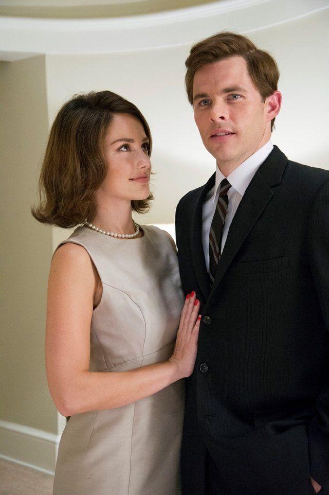 James Marsden and Minka Kelly as John F  Kennedy and Jackie Kennedy