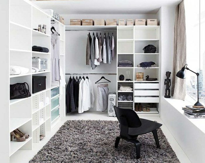 comment am nager un dressing pratique et ranger les v tements avec style rangement pinterest. Black Bedroom Furniture Sets. Home Design Ideas