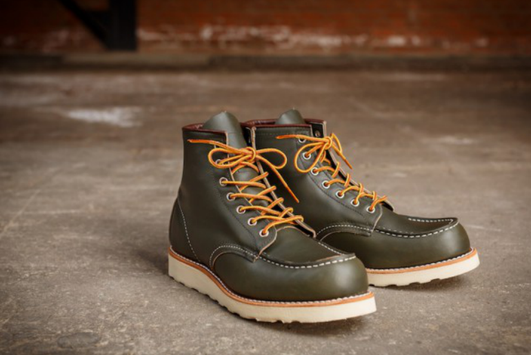Red Wing Green Kangatan 8180 Sports Boots - Just Released » RawrDenim.com