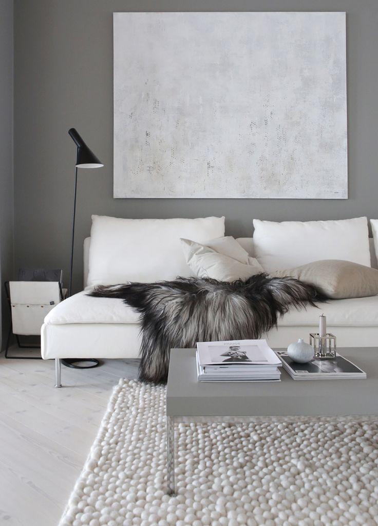 Skandinavische Wohnzimmer Einrichtung Inspiration Wohnzimmer