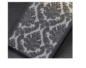 2015 Version Phone Cases For Samsung Galaxy A3 A3000 / A5 A5000 Retro Damask Pattern Engraved Matte Back Case Cover Skin Shell