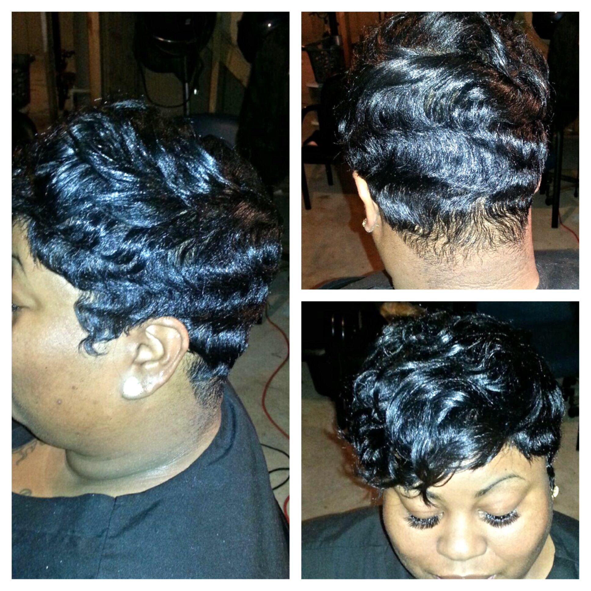 Pin On Trendy Short Hair Cuts And Short Hairstyles For African American Women