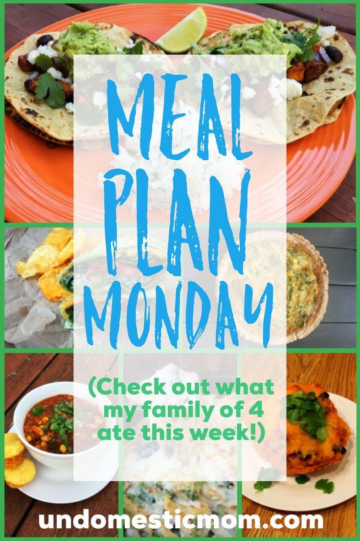 Vegetarian Meal Plan Monday images