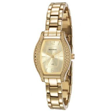 8ea432c2a1d 94752LPMGDM1 Relógio Feminino Mondaine Analógico Dourado