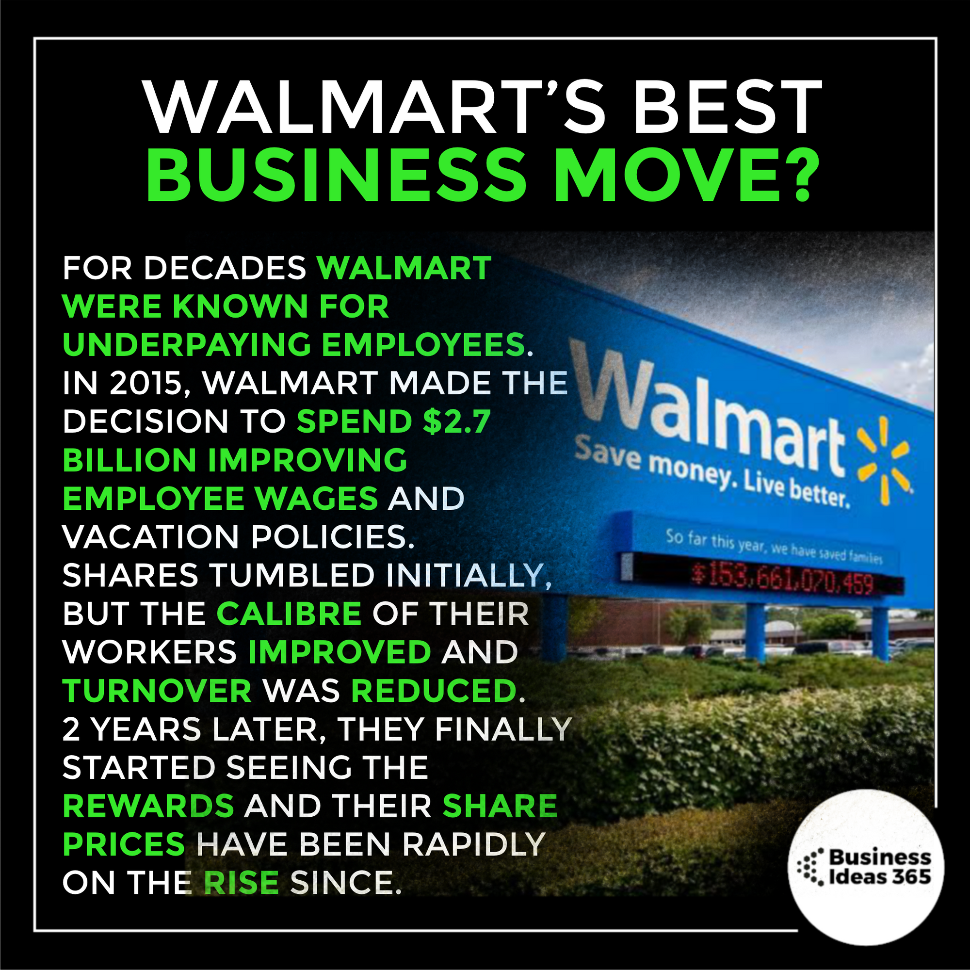 What Do You Think Of This Business Move By Walmart