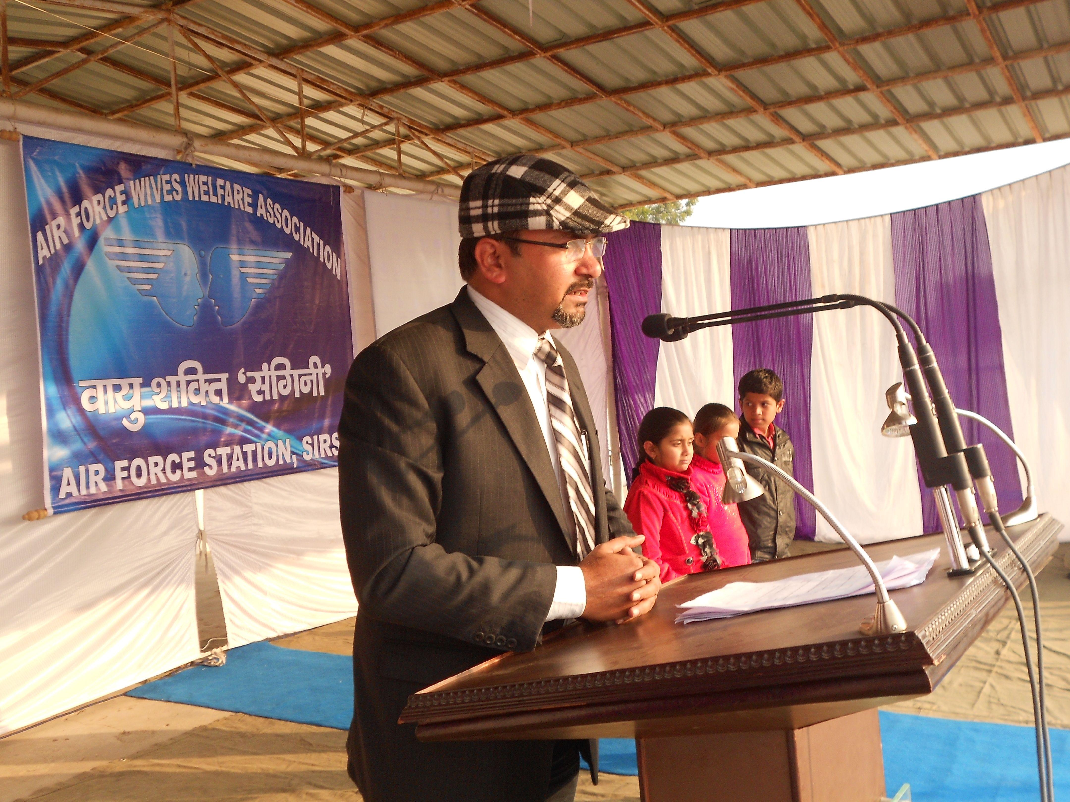 Organised Parenting Pathshala At Air Force Wives Welfare
