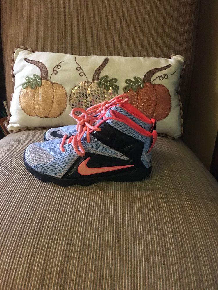 more photos a1e95 677a5 Boys Nike Lebron James Sneakers Black blue and orange size 10C  fashion   clothing  shoes  accessories  kidsclothingshoesaccs  boysshoes (ebay link)