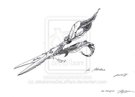 scissor tattoo design - google