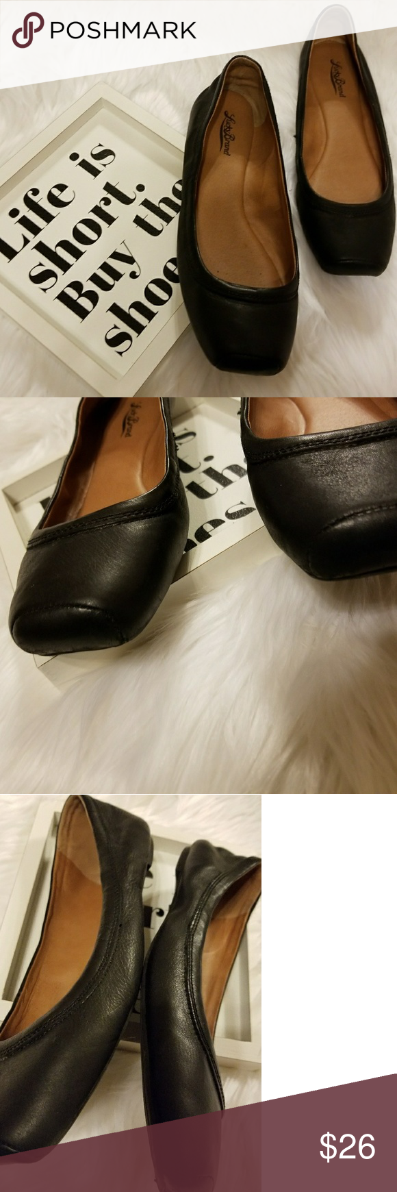044e25c98 Lucky shoes Black flats. Size 11 B Lucky Brand Shoes Flats & Loafers ...
