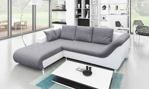 Groupon Ibiza Four Seater Sofa Bed With Storage In Choice Of Colour For Aed