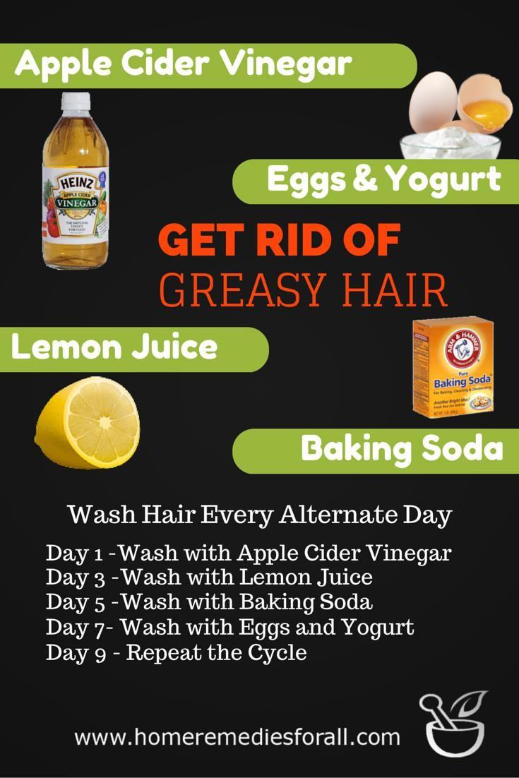 4 ways to get rid of greasy hair greasy hair hairstyles
