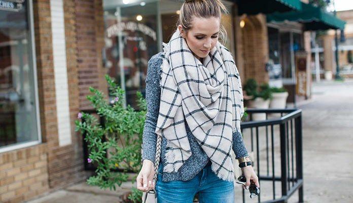 79a8b5154c Fashion Is Art ©  Οι πιο στυλάτοι τρόποι για να φορέσεις ένα κασκόλ ...