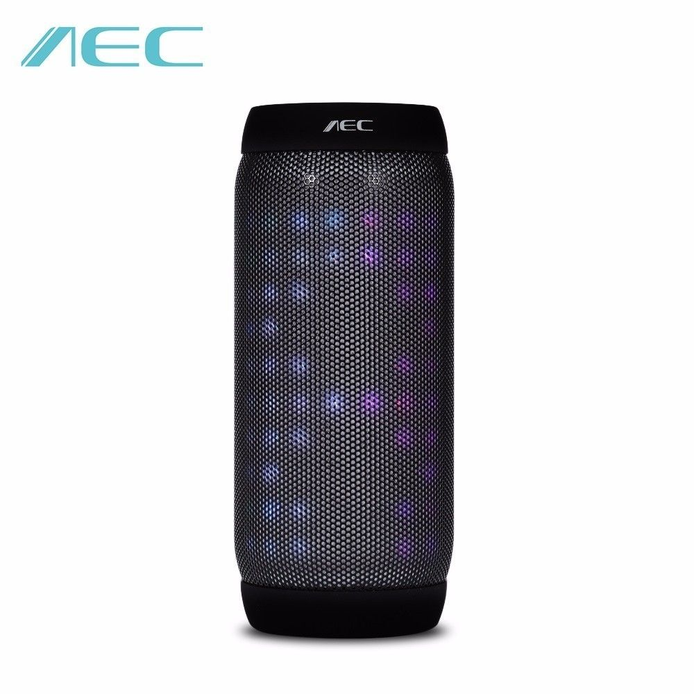 Home & Garden Subwoofer Bass Speaker Led Light Lamp Alarm Clock Camping Smartphone Stereo Sound Box Aux Usb Handsfree Calling Discounts Sale Home Decor