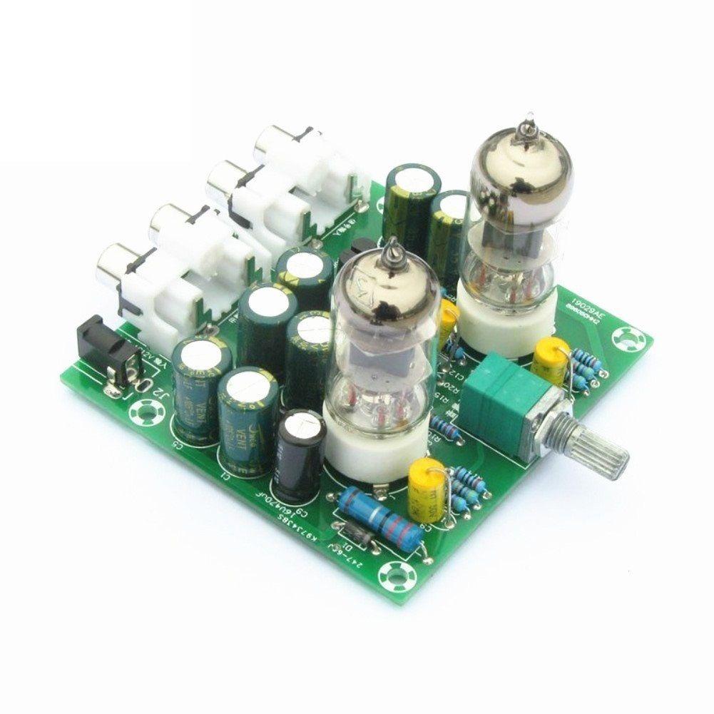 6j1 Tube Preamp Amplifier Board Pre Amp Headphone Buffer Diy Assortment Kits Headphone Amp Headphone Amplifiers Diy Amplifier