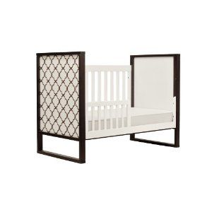 Twinkle 3 In 1 Crib In Two Tone Espresso And White 299 00