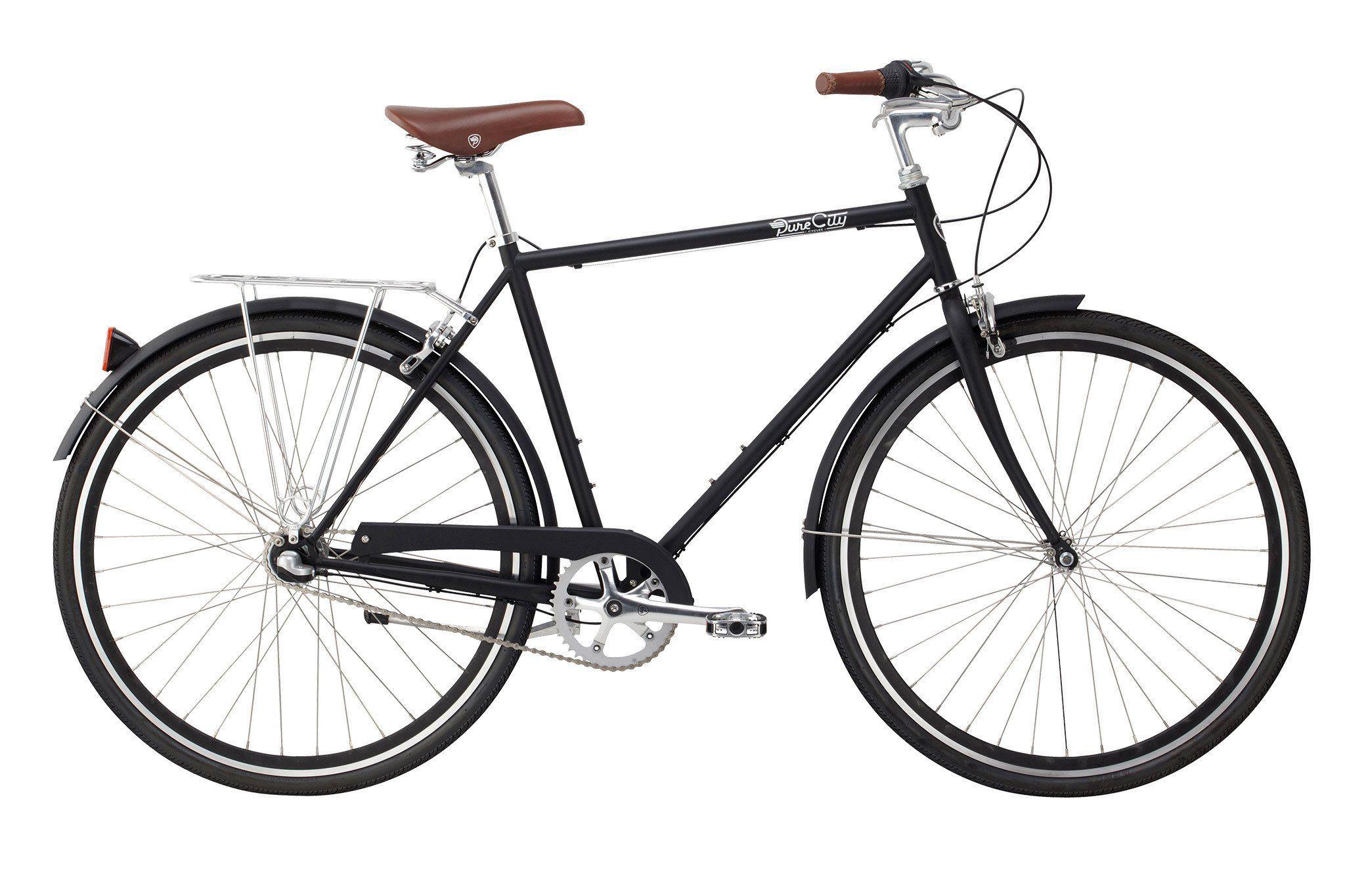 Pure City Classic Bike 3 Speed Commuter Bike Classic Bikes Bike