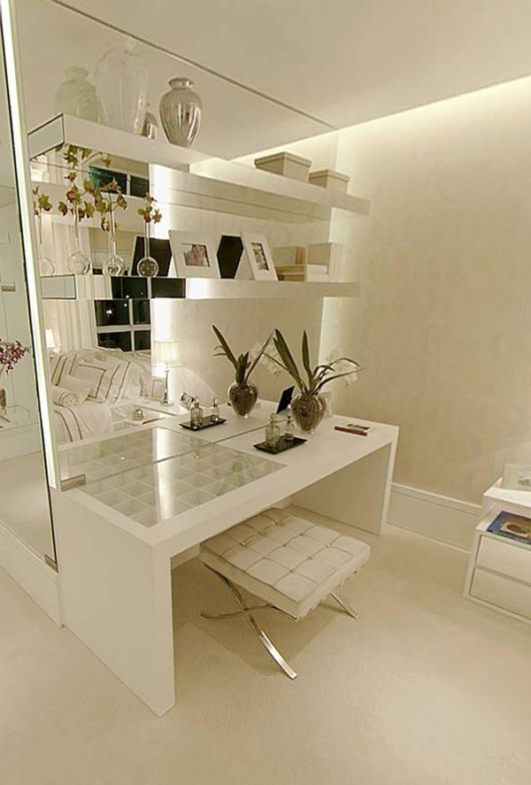 10 Penteadeiras Inspiradoras   Constance Zahn | Quartos | Pinterest |  Moderne Dekoration, Schlafzimmer Design Und Nagellack