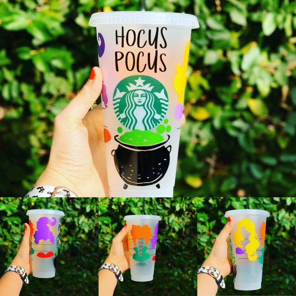Hocus Pocus Cup in 2020 Custom starbucks cup