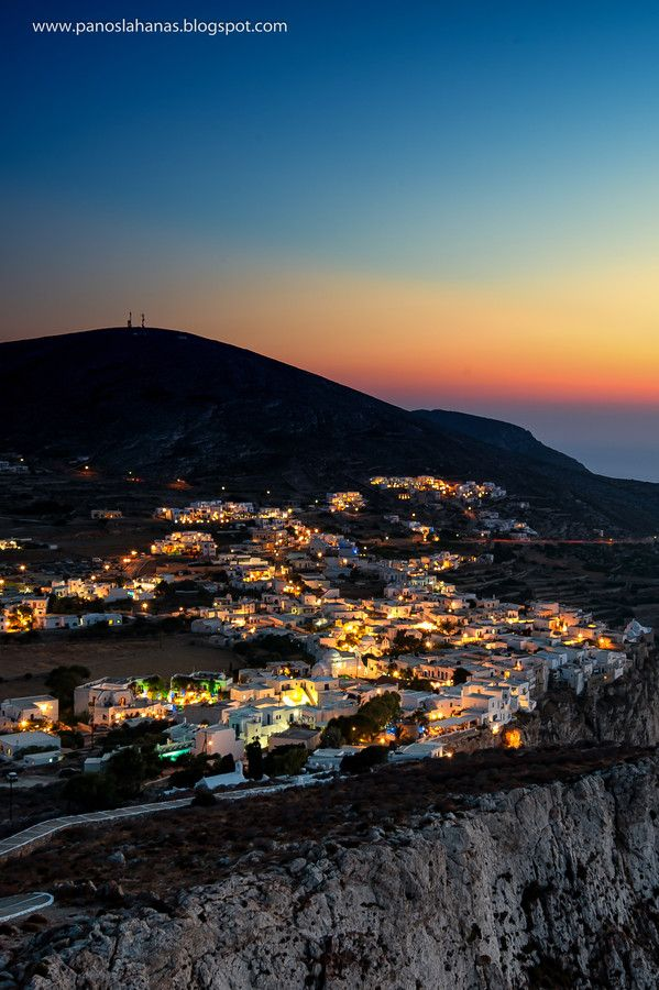 Folegandros Island Sunset, Greece