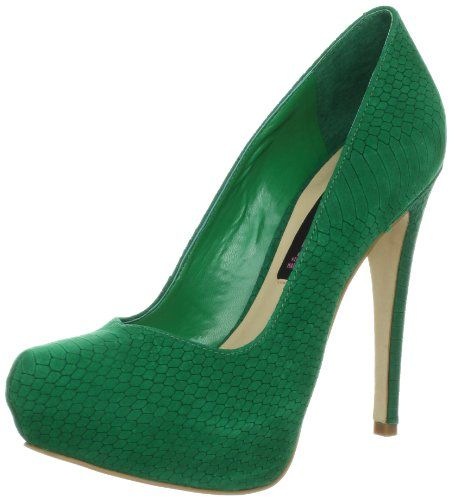32df70aa141 STEVEN by Steve Madden Women's Vyperr Pump,Green Nubuck,7.5 M US ...
