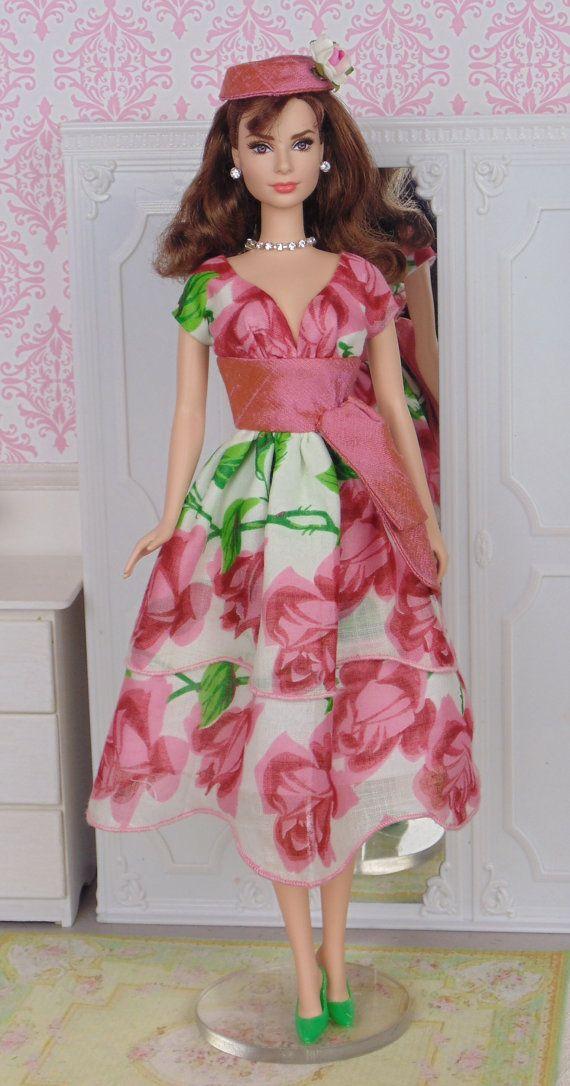 Tea Roses for Silkstone Barbie by HankieChic on Etsy