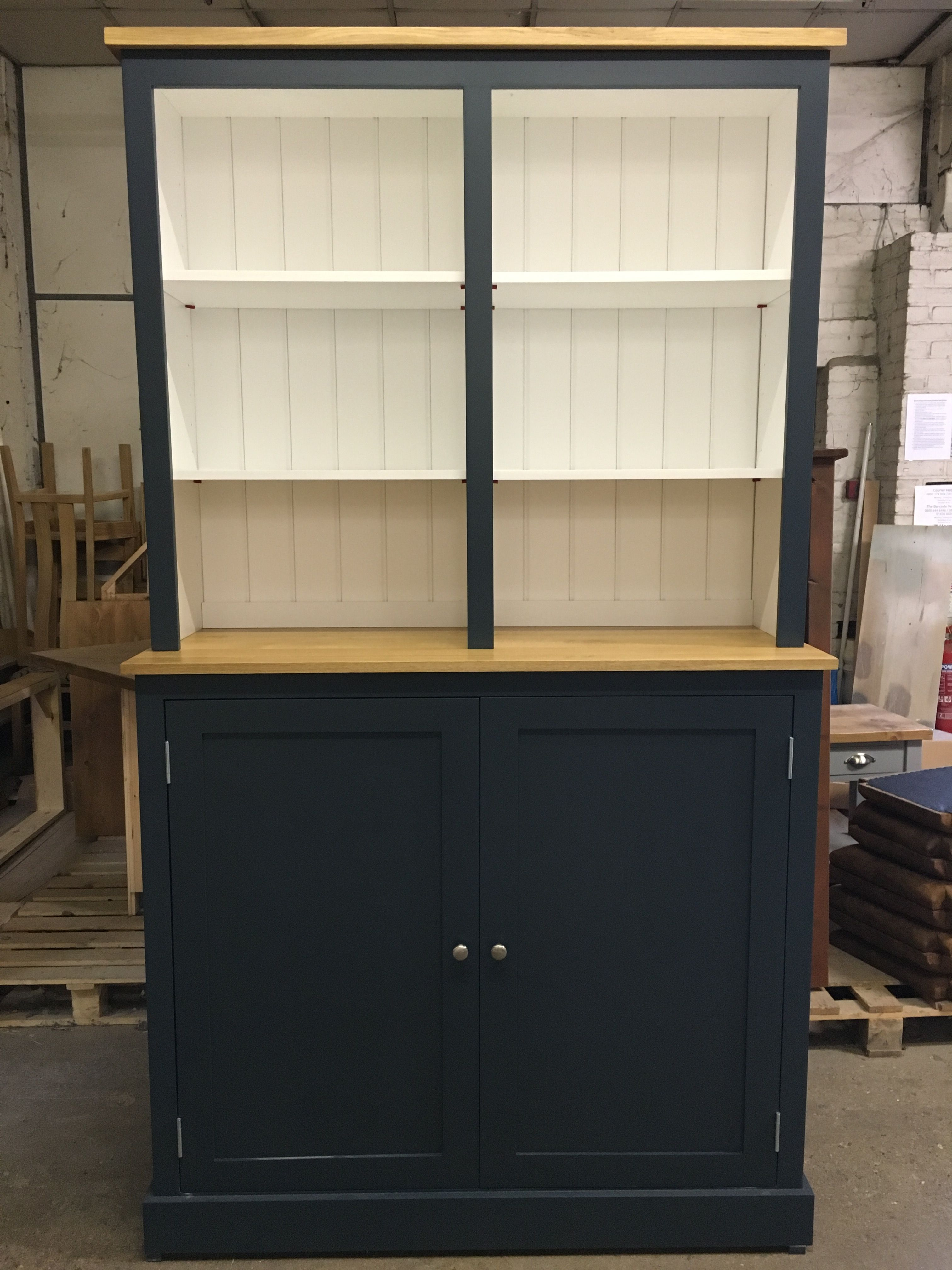 Best Large Bespoke Dresser With Solid Oak Tops Painted In F B 400 x 300