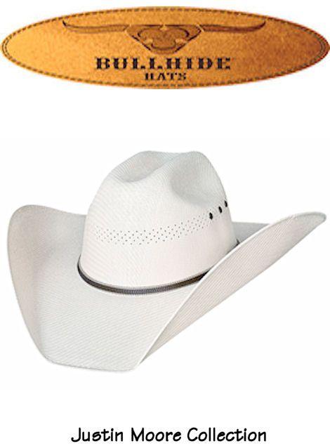 ceba0e6e668 Bullhide Hats California Straw Bait A Hook 50X Justin Moore Signature  Collection 2694 Mens Natural  bullhidehats  cowboyhats