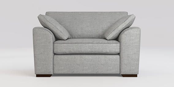 Buy Stamford Snuggle Seat 2 Seats Textured Weave Light Grey Large Square Angle Standard From The Next Uk Online Shop Snuggle Seat Snuggle Chairs Stamford