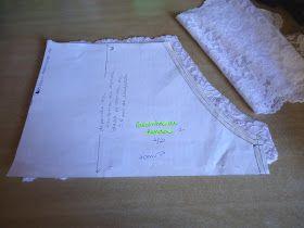 Resolvi fazer uma calcinha dessa vez!     E como ainda estou engatinhando nesse negócio de desenvolver 100% a lingerie, fiz uma bem simple...