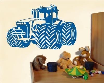 Lovely Wandtattoo Trecker Traktor Wandtattoo Trecker ab cm