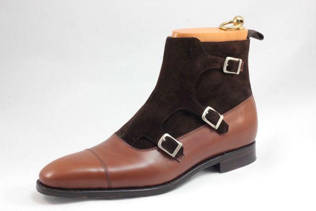 Septieme Largeur Triple Monk Strap Balmoral Boot theshoesnobblog.com