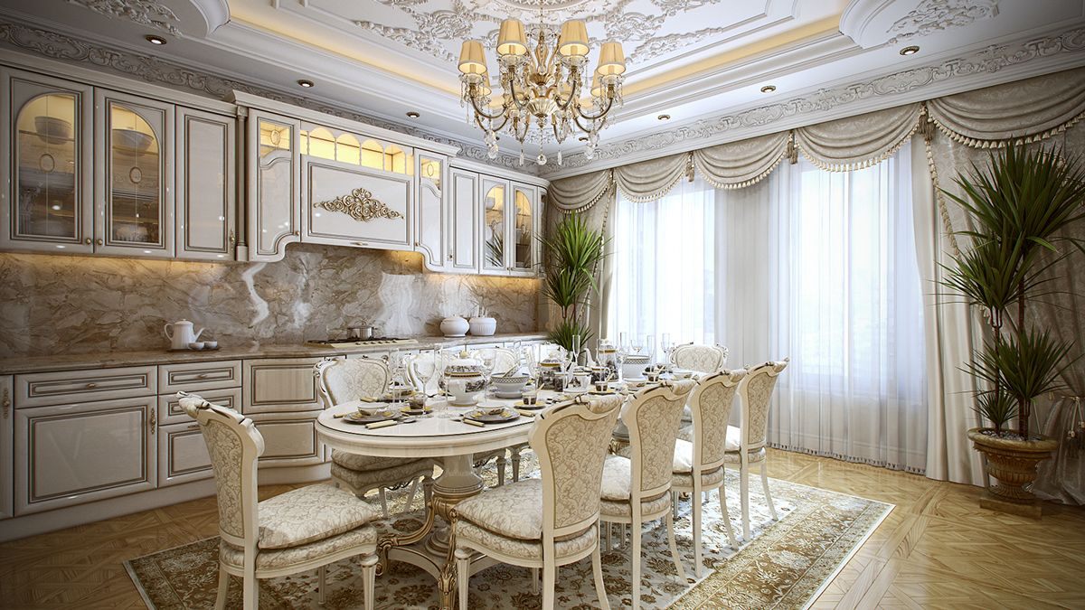 Superior 5 Luxurious Interiors Inspired By Louis Era French Design