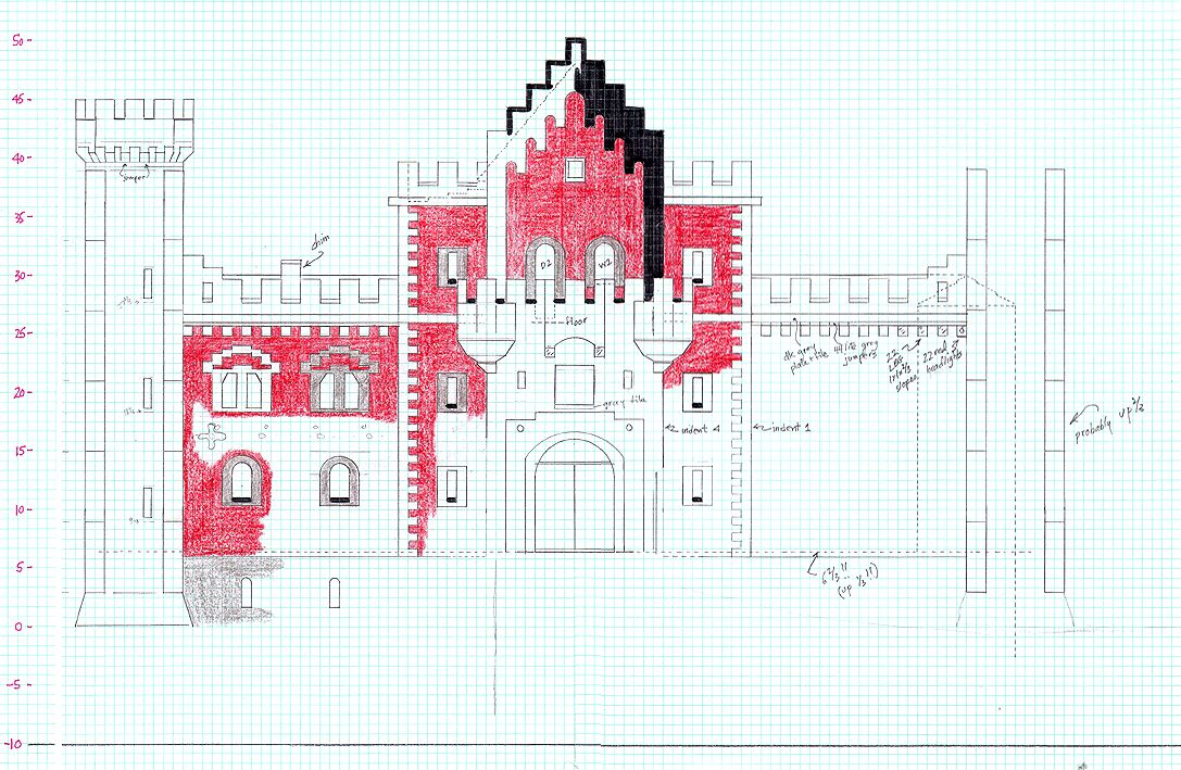 Minecraft Castle Blueprints Step By Step