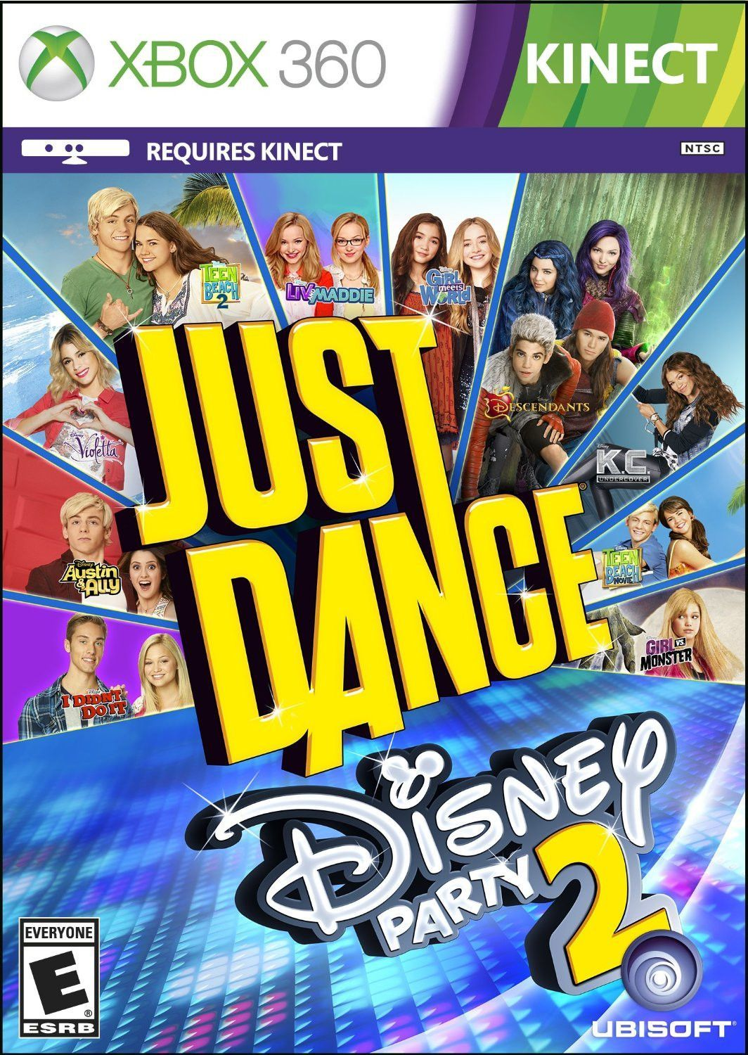 Just Dance Disney Party 2 Video Game Xbox 360 Standard Edition