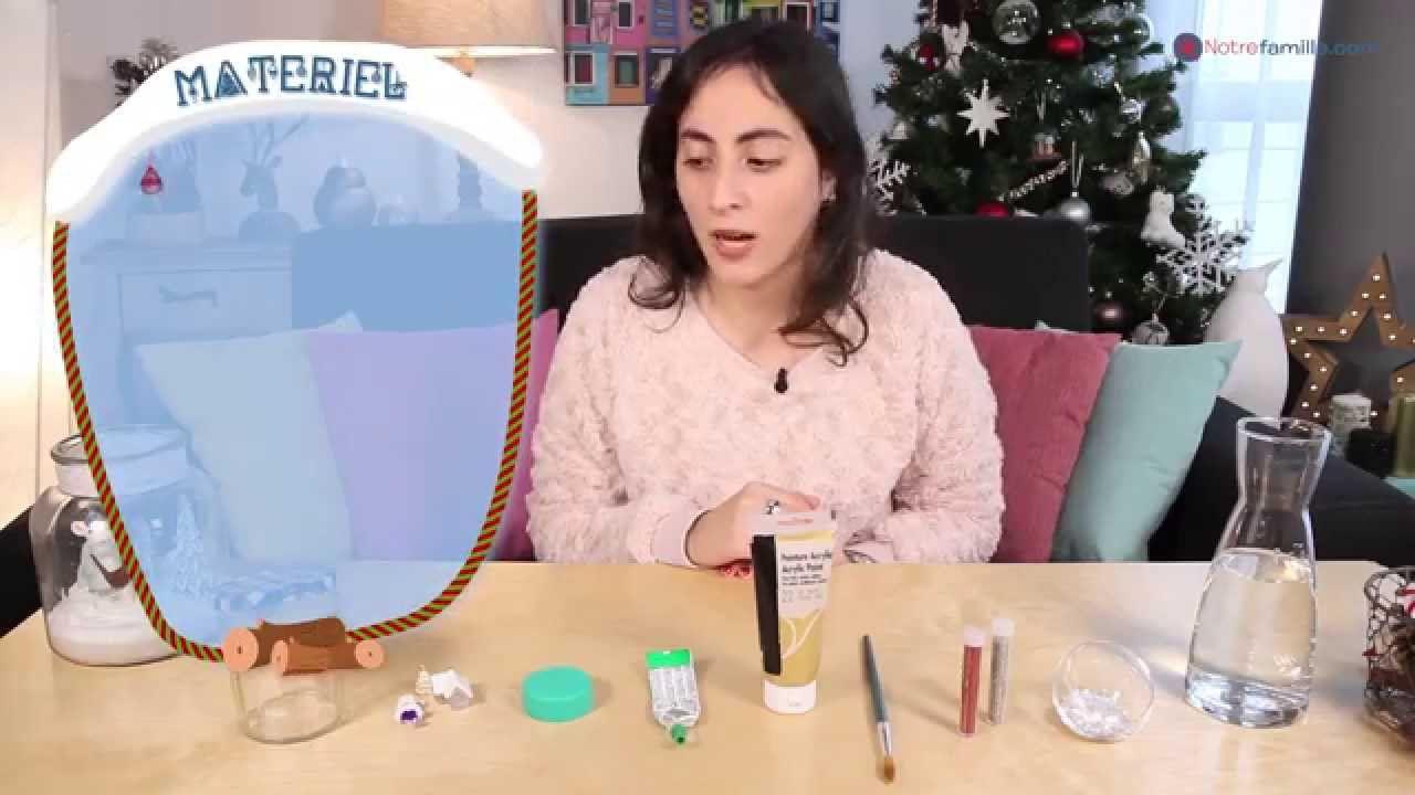 DIY Noël - Boule à neige faite maison