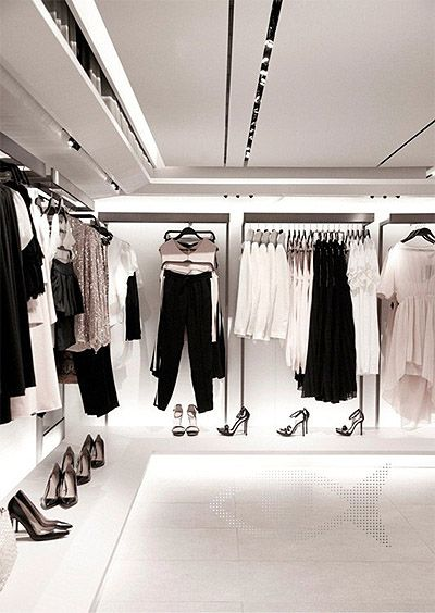 Zara's New Green Retail Store Interior Design Commercial