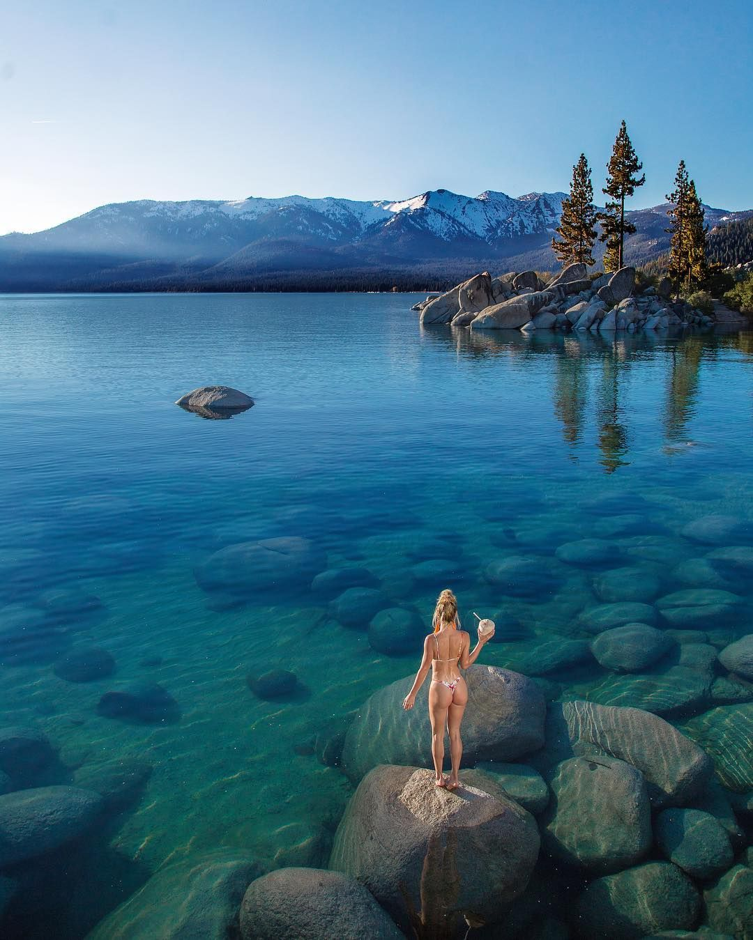 Lake tahoe sunset travel channel pinterest - Explore Mother Nature Photo And Video And More