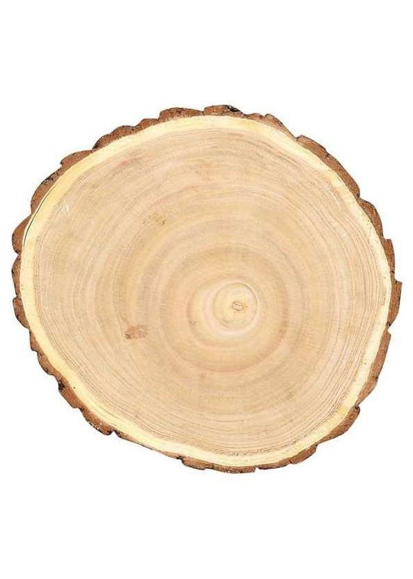 Round Wood Slab Tray For Centerpieces Approximately 8 75 Diameter Wood Slices Wood Slab Wood