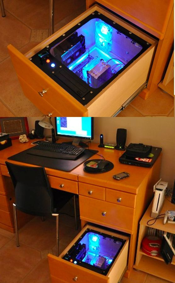 fit technology custom geek adjustable true desk for pc a computer mod