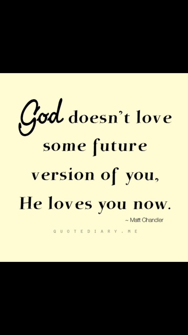 2. God's love can be known.