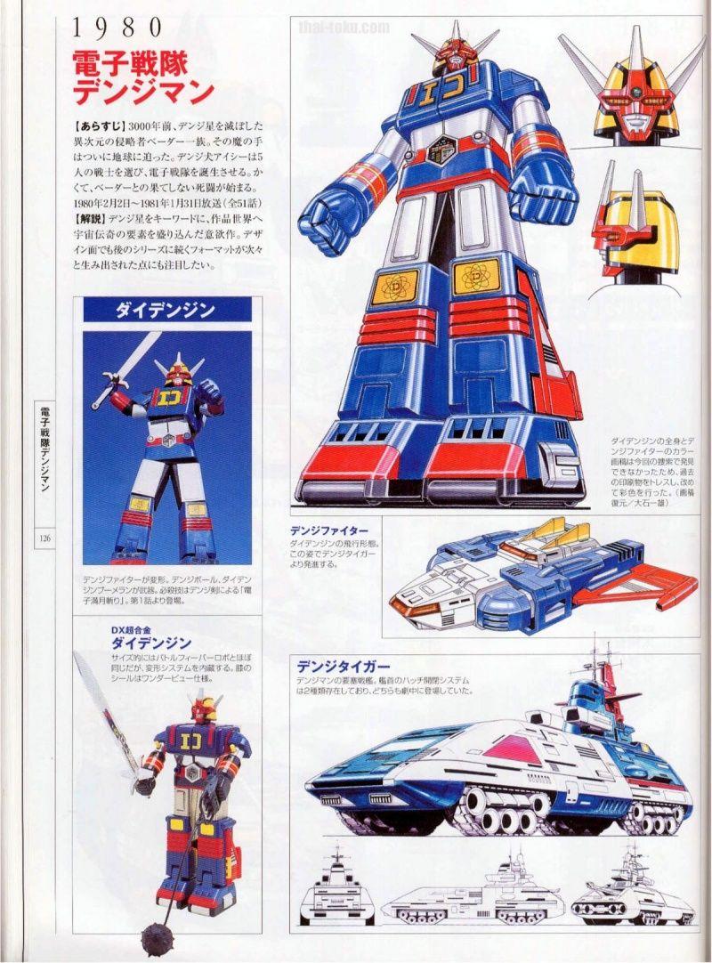 Super Sentai Robot Art Collection
