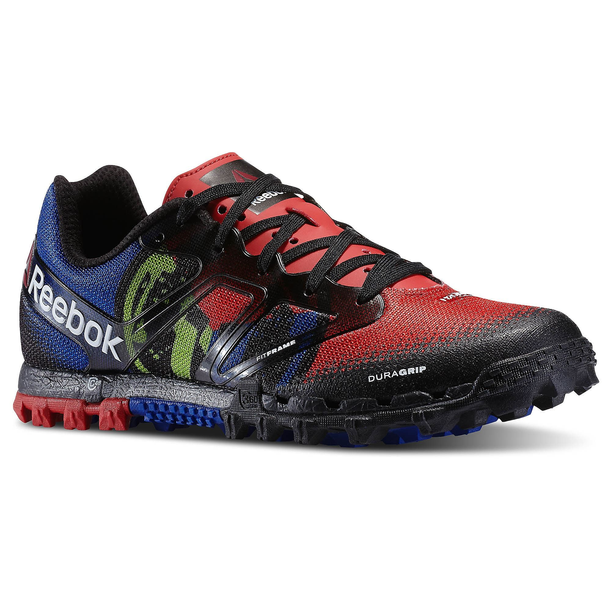 chaussure reebok spartan race hommes rouge