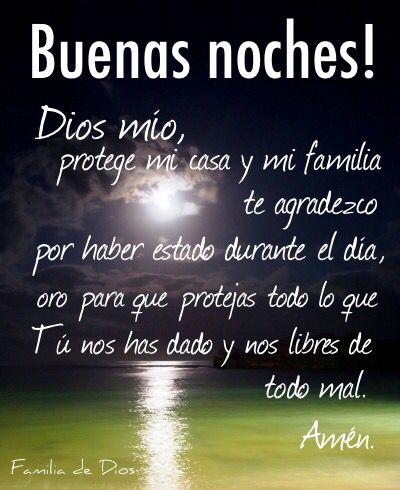 Oracion De La Noche Gracias Dios Un Nuevo Dia Oracion Dios Jesus Anochecer Buenas Noches Oremos Antes De Dormir Memes About Me Blog Buena