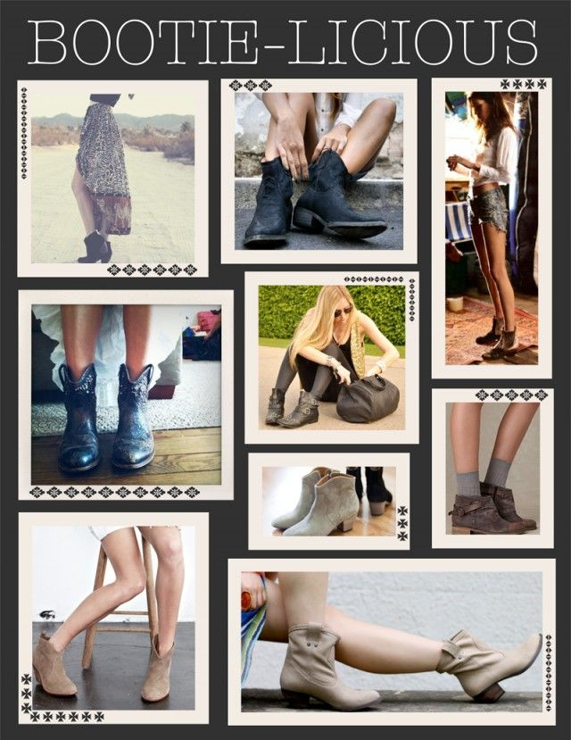 Fashion Tip Friday! Stock up on ankle boots for Summer! Bootie-Licious
