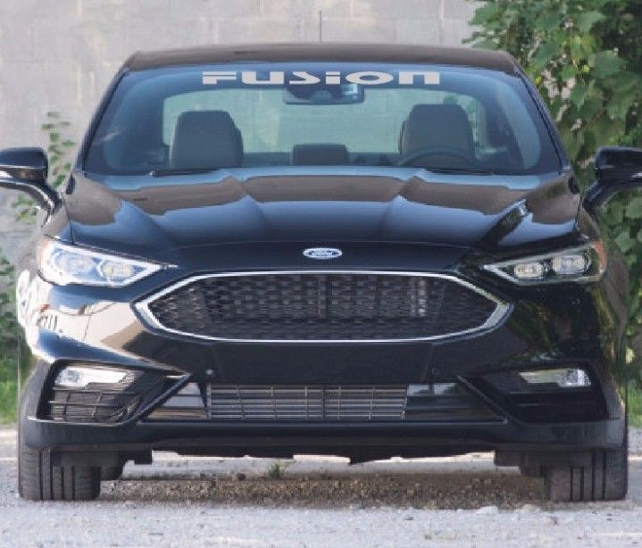 FORD FUSION SPORT WINDSHIELD DECAL EBay Motors Parts - Windshield decals for trucks