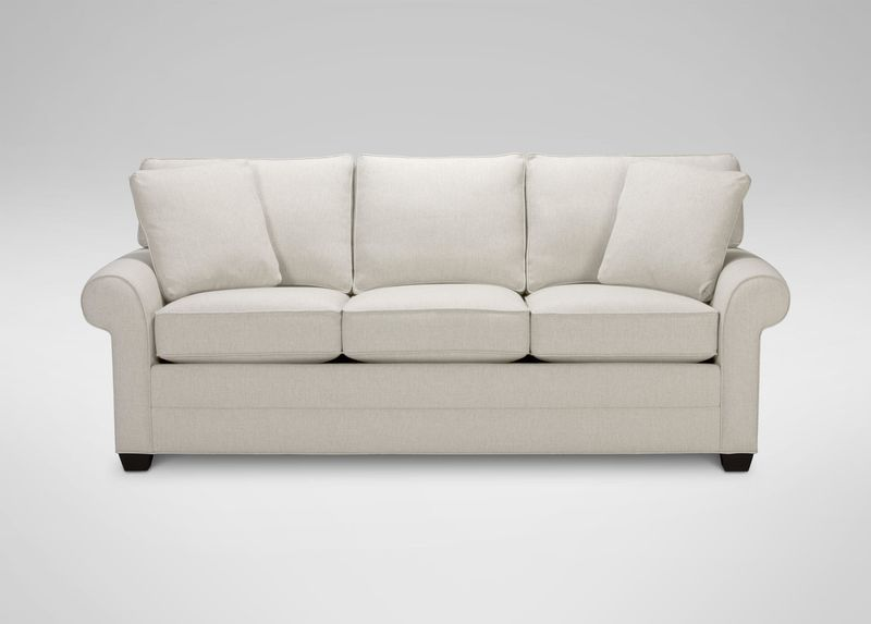 Would Like Off White Color With This Style From Ethan Allen Furniture Bennett Roll Arm Sofa Quick Ship Rolled Arm Sofa Quick Ship Sofa Love Seat