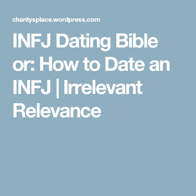 infj and dating