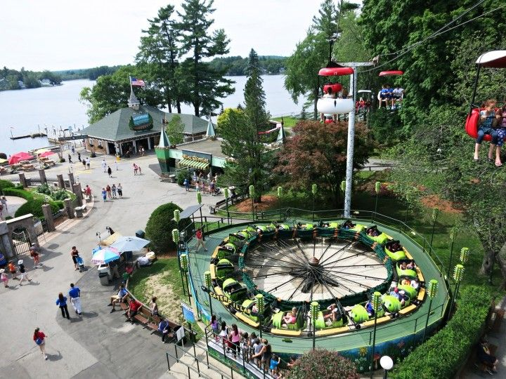Canobie Lake Park & Canobie Lake Park | Canobie lake park Amusement parks and Lakes