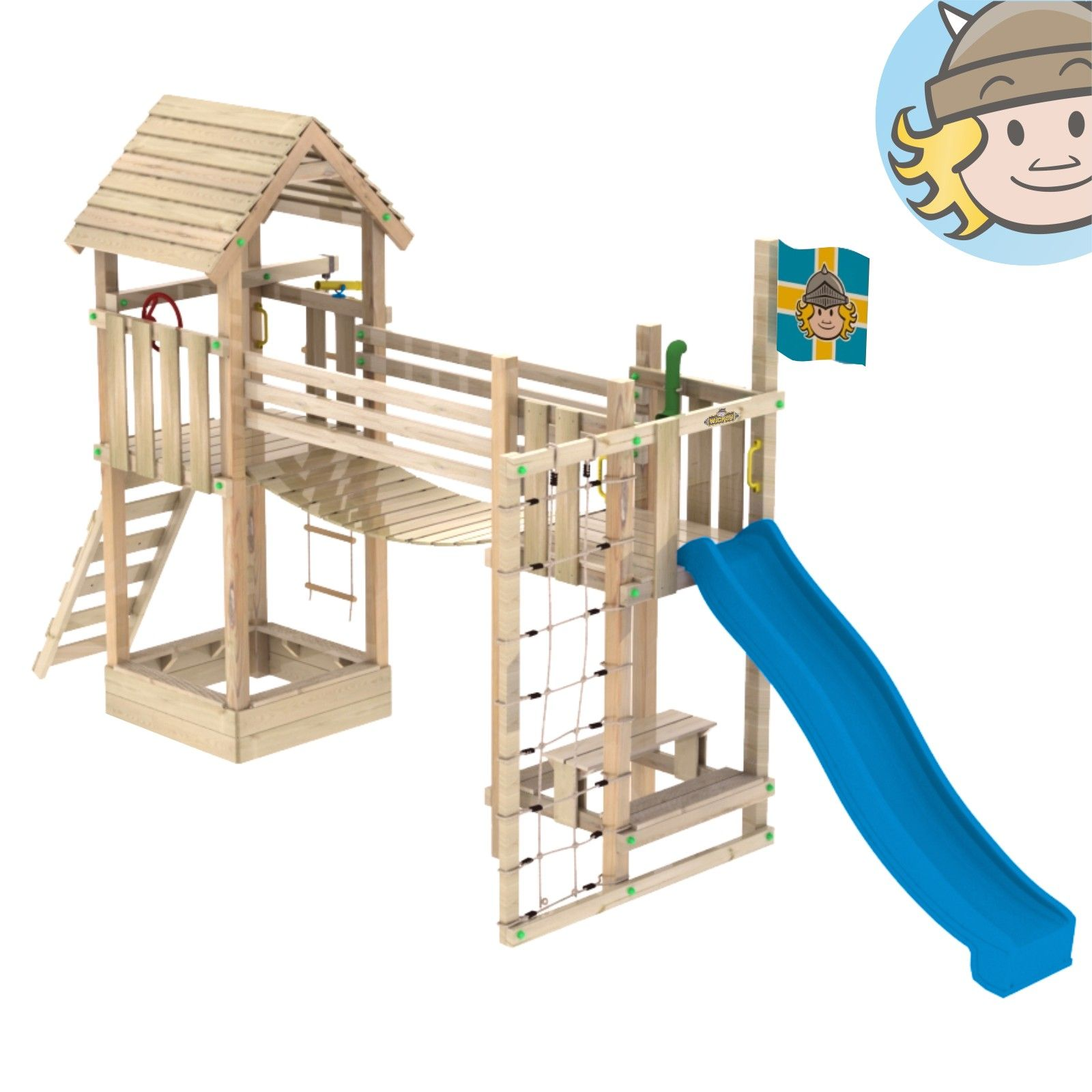 Aire De Jeux En Bois Exterieur Пин на доске a kids backyard playground swing set fort playhouse