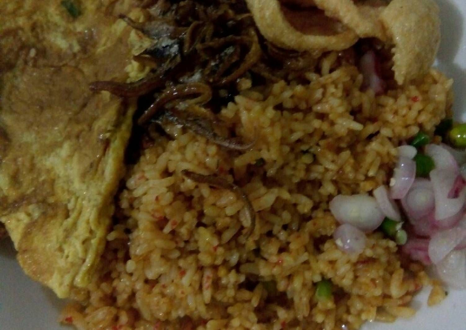 Resep Nasi Goreng Ala Kaki Lima Oleh Srihadi Yanti Resep Makanan Nasi Goreng Resep